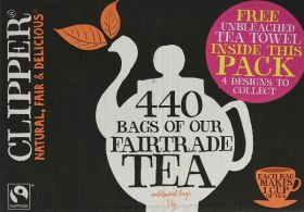 Clipper Fair Trade Everyday Teabags (1x440's)
