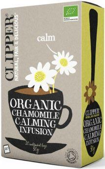 Clipper Fair Trade Organic Infusion Chamomile Teabags (6x20's)