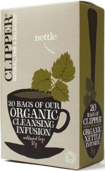 Clipper Fair Trade Organic Infusion Nettle Teabags (6x20's)