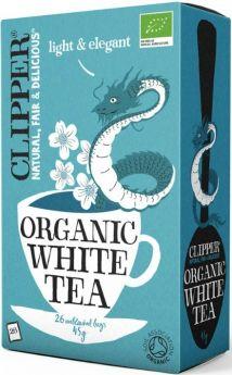 Clipper Fair Trade Organic White Teabags (6x25's)