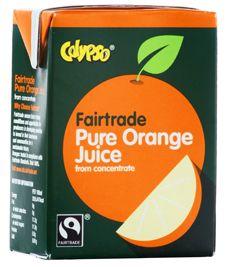 Calypso Fairtrade Pure Orange Fruit Juice 12x500ml5