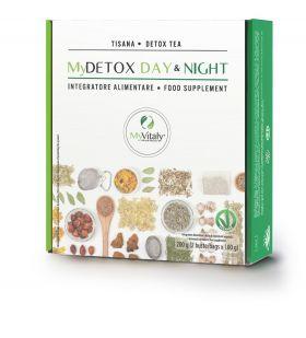 """My Vitaly Detox tea """" Night and day treatment 2x200g"""