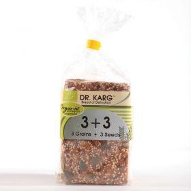Dr Karg Organic 3 Grains & 3 Seeds Crispbreads 200g x8