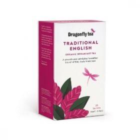 Dragonfly Organic Traditional English Breakfast 50g (20's) x4