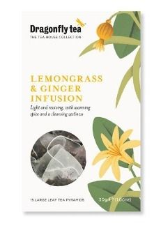 Dragonfly Garden Mint & Verbana Tea 15's x6