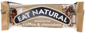 Eat Natural Coffee & Choc, Peanuts & Almond 45g x12