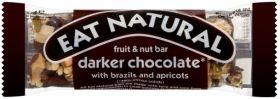 Eat Natural Darker Choc, Brazils & Apricots 45g x12