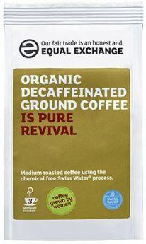 Equal Exchange Organic Decaffeinated Roast & Ground Coffee 227g x8