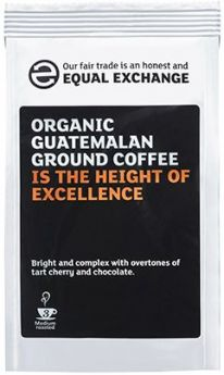 Equal Exchange Organic Guatemalan Roast & Ground Coffee 227g x8