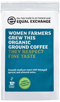 Equal Exchange Organic Women Farmer?? Roast & Ground Coffee 227g x8