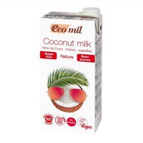 Ecomil Coconut Milk Sugar-Free 1L x6