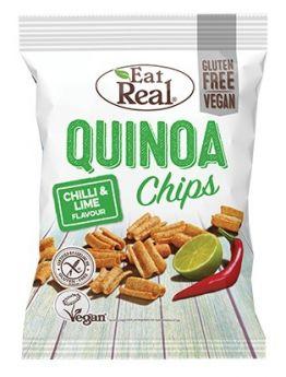 Eat Real Quinoa Sundreid Tomato and Roasted Garlic Chips 22g x24