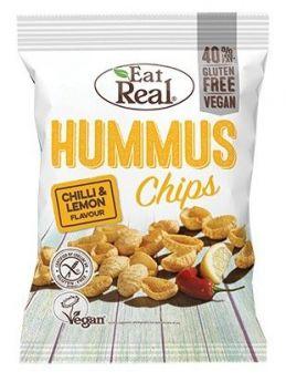 Eat Real Chilli and Lemon Hummus Chips 135g x10