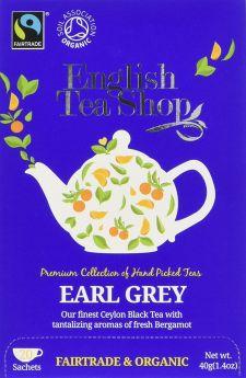 English Tea Fair Trade and Organic English Breakfast 2g - 20's x6