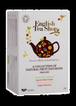 English Tea Shop Organic Assorted Fruit Teas 35g (20's) x6