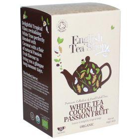 English Tea Shop Organic Darjeeling Black Tea 40g (20's) x6