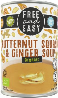 Free & Easy Organic Broccoli and Kale Soup 400g x6