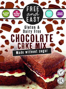 Free & Easy Carrot Cake Mix - Coconut Blossom Sugar 350g x4