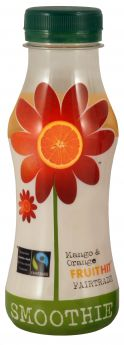 Fruit Hit Fair Trade Mango & Orange Smoothie (12x250ml)