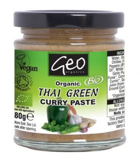 Geo Organics Thai Red Curry Paste 180gx6