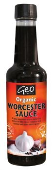 Geo Organics Worcester Sauce 150mlx6