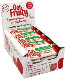 Get Fruity Strawberry fruit & Oat bar 35g x20