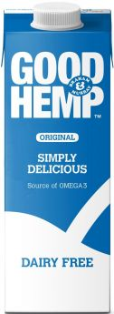 Good Hemp Raw 50% Plant Protein Powder and Fibre Boost 2.5kg x1