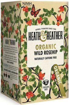 Heath & Heather Wild Blackcurrant Enveloped Tea Bags 30g (20's) x6