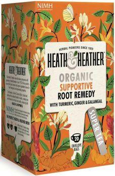 Heath & Heather Organic Pomegranate Enveloped Tea Bags 30g (20's) x6
