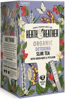 Heath & Heather Organic Sage and Lemon Myrtle Enveloped Tea Bags 30g (20's) x6