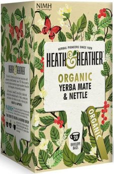 Heath & Heather Wild Rosehip Enveloped Tea Bags 30g (20's) x6