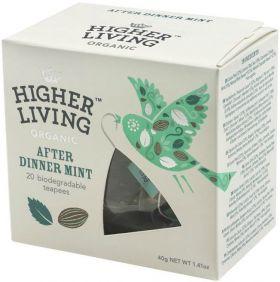 Higher Living Organic String-Tag & Enveloped English Breakfast Tea 45g (20's) x4