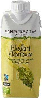 Hampstead Tea Organic & Fair Trade Elegant Elderflower Oolong Iced Tea 330ml x8