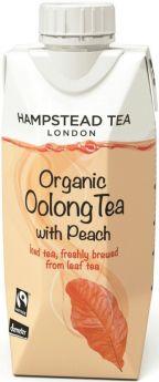 Hampstead Tea Organic & Fair Trade Peach Oolong Iced Tea 330ml x8