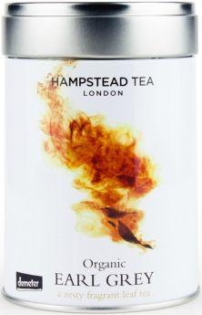 Hampstead Tea Organic Darjeeling Leaf Tea - Tin 100g x6
