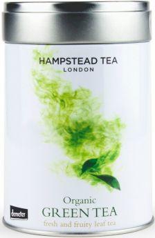Hampstead Tea Organic Earl Grey Leaf Tea - Tin 100g x6