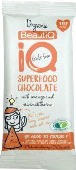 iQ Organic YogiQ (Ginseng and Ginger) Superfood Chocolate Bar 35g x24