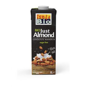 Isola Bio Just Almond Unsweetened  6x1ltr