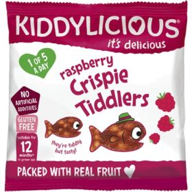 Kiddylicious Raspberry Crispie Tiddler 12g x18