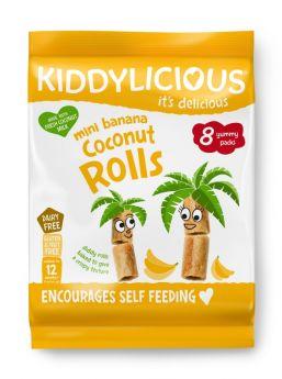 Kiddylicious Banana Coconut Rolls 6.8g (8's) x5