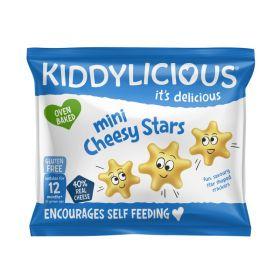 Kiddylicious Cheesy Stars 12g x12