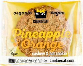 Kookie Cat Organic Chia and Lemon, Cashew and Oat Cookie 50g x12