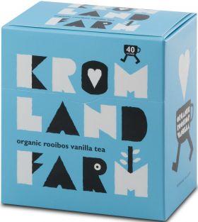 Kromland Farm Organic Rooibos Naked Teabags 100g (40's) x4