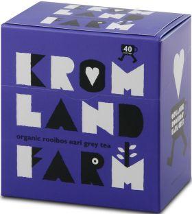 Kromland Farm Organic Rooibos Vanilla Naked Teabags 100g (40's) x4