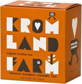 Kromland Farm Organic Rooibos Earl Grey Naked Teabags 100g (40's) x4
