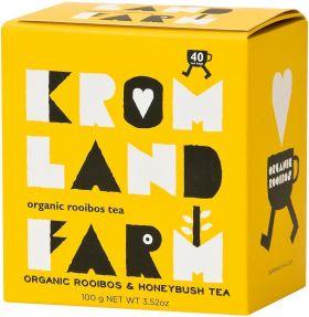 Kromland Farm Organic Rooibos Caramel Naked Teabags 100g (40's) x4