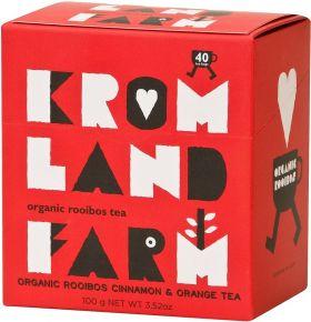 Kromland Farm Organic Rooibos & Honeybush Naked Teabags 100g (40's) x4