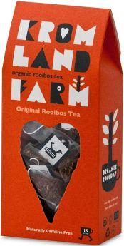 Kromland Farm Organic Rooibos and Honeybush Naked Teabags 100g (40's) x4
