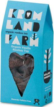 Kromland Farm Organic Biodegradable Rooibos Teapees 30g (15's) x4