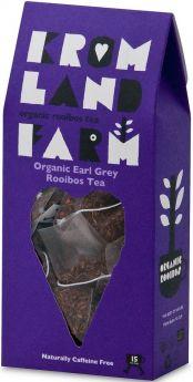 Kromland Farm Organic Biodegradable Rooibos Vanilla Teapees 30g (15's) x4